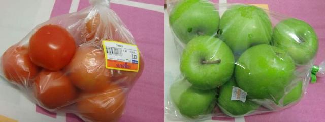 リンゴ トマト