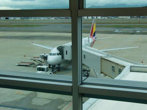 初めてのアシアナ航空