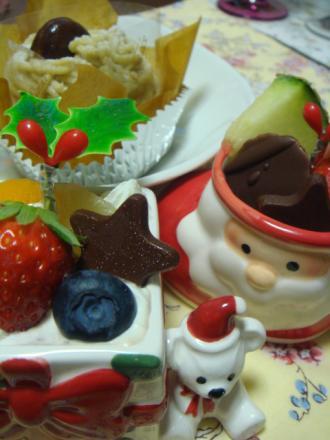 クリスマスケーキ!
