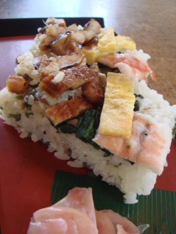 混ぜ棒寿司?