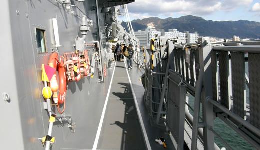 海上自衛隊護衛艦「いせ」「さざなみ」一般公開(2)-2