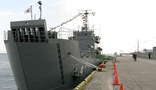 海上自衛隊輸送艦「ゆら」一般公開(2)-1