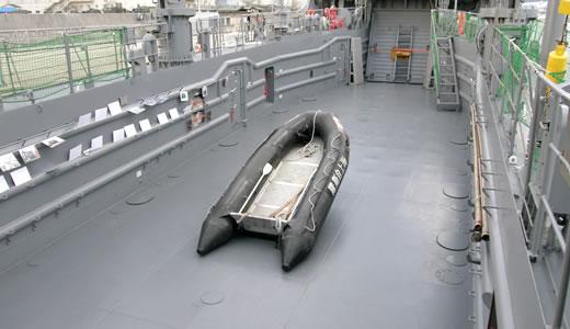 海上自衛隊輸送艦「ゆら」一般公開(2)-2