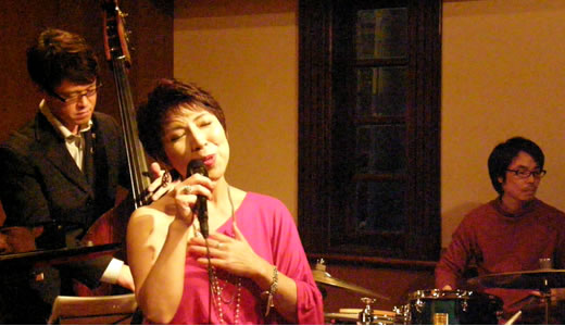 市川ちあき JAZZ LIVE @ JUST IN TIME 2012 NOW