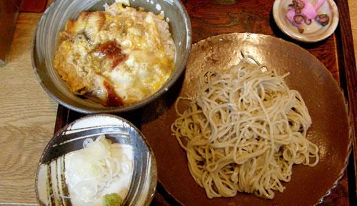 江戸前蕎麦 薫庵でランチ(2)