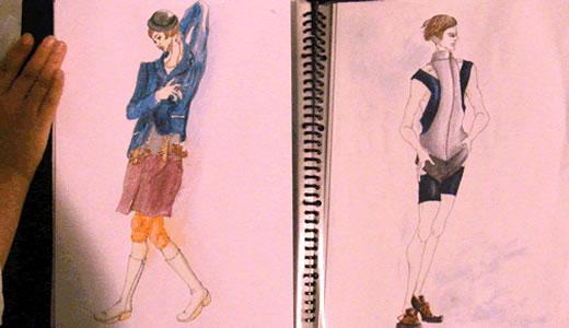 神戸ファッション専門学校作品発表会2011(2)-3