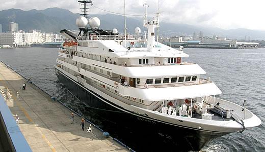 クルーズ客船 オリオンⅡ 神戸港初入港-2