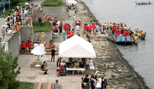ASHIYACUPドラゴンボートレース2011(2)-1
