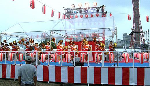 こうべ海の盆踊り2011