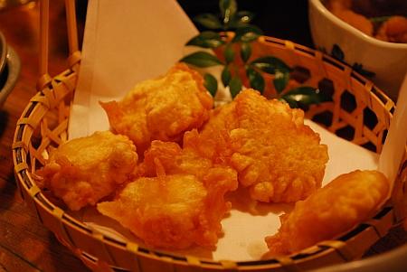 タコの天ぷら