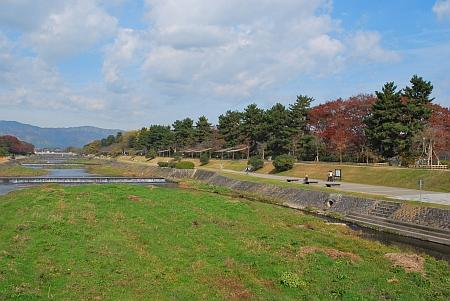 北大路からの賀茂川