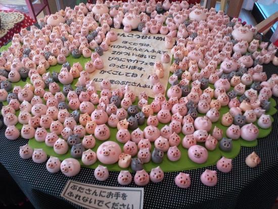 豚さんがいっぱい
