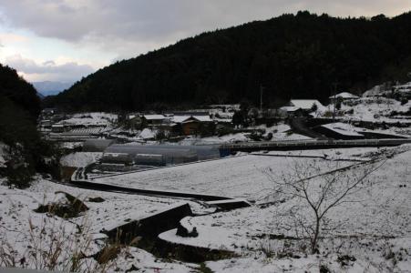 田舎の雪1