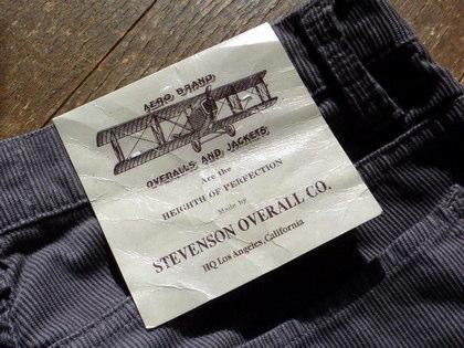 Stevenson Overall/スティーブンソン・オーバーオール