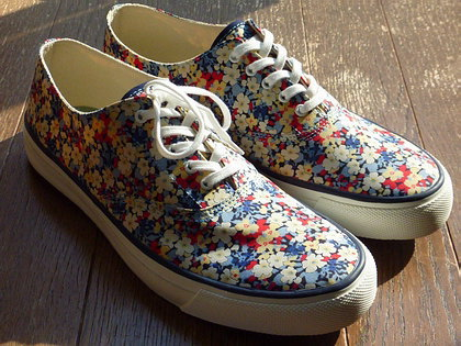 リバティなトップサイダー/TOP-SIDER Heritage OXFORD LIBERTY