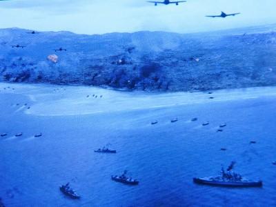 サイパン島は、敵機、戦艦に包囲されて…