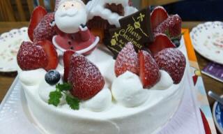 クリスマスケーキ~!