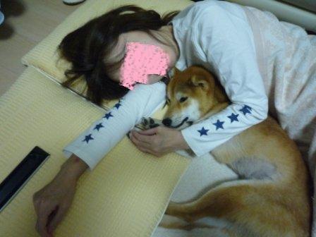 たけちよママと寝んね