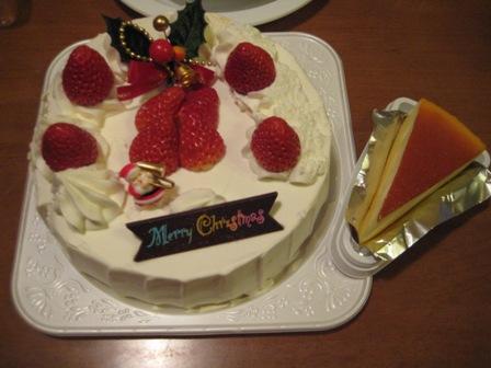 ③クリスマスケーキ