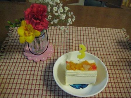 ③ロールケーキ