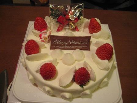 ①クリスマスケーキ