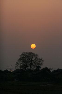 【プレ講座】夕日