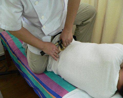 腰方形筋を症候器でアプローチ