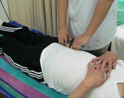 腰痛の反射区