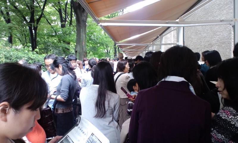 NHKホールで待っている時