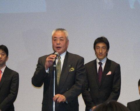 柳本さんの演説