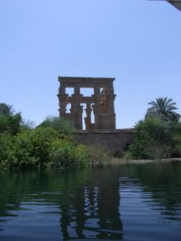 イシス川から
