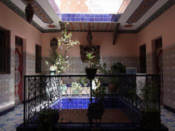 モロッコの宿1