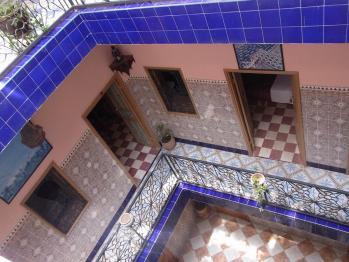 モロッコの宿2