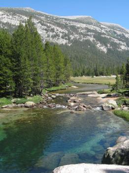 JMT4美しい川と山