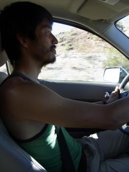 西川も運転