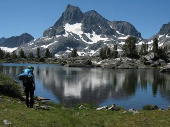 IMG_3420Island Pass を越えて1コ目の湖