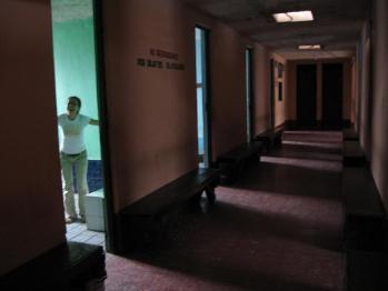 los banos廊下