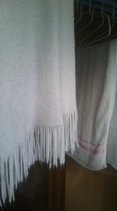 真っ白洗濯物