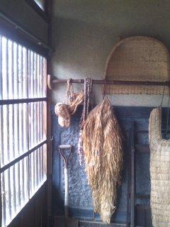 カントリーハウスの玄関