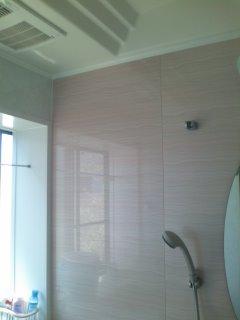 お風呂場の掃除