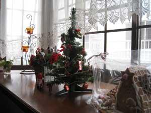 クリスマス(出窓)