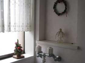 クリスマス(洗面所)