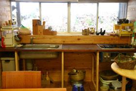 作りかけ台所