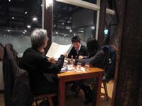 雪の中のレストラン2