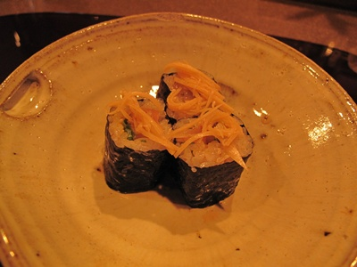 くずし割烹 かのふ  アジのお寿司