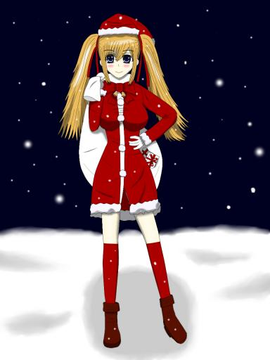 看板娘001 2010 クリスマス