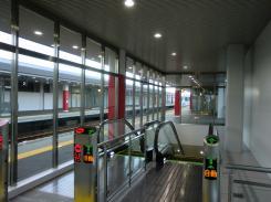 野幌駅構内