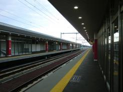 野幌駅ホーム