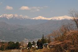 岳系の山たち
