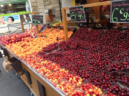 ローマの果物売ってる屋台